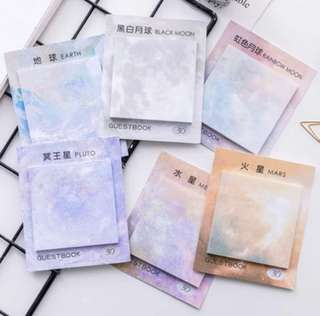 [PO OPEN] GALAXY POST ITS
