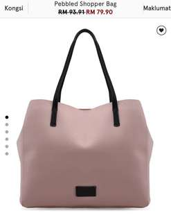 Mango Tote Bag (ZALORA) (reduce price from rm65 to rm55)
