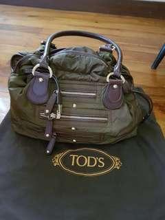 TOD'S Nylon Pashmy Media D-bag