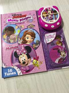 Disney Junior music player