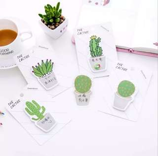 [PO OPEN] CACTUS AND SUCCULENTS POST ITS
