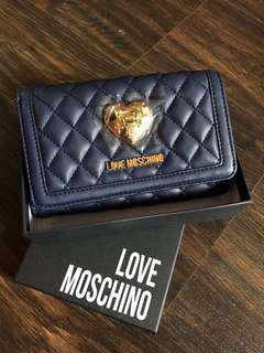 Love Moschino Medium Wallet (Navy Blue)