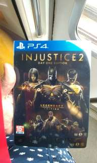 Ps4 Injustice 2 Day One Edition at just $50