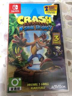 Crash Bandicoot Nsane Trilogy Switch