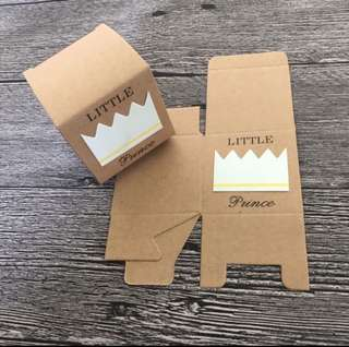 (Free Postage) 15 Kraft Boxes - Baby Shower - Wedding Favour