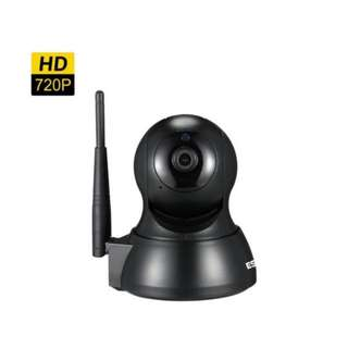 🚚 HD 720P WiFi IP Camera IR Pan/Tilt Security Infrared Head Camera With Night Vision Motion Detection Two Way Audio Monitoring Camera (UK Plug)