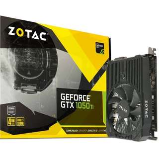 🚚 ZOTAC GeForce GTX 1050 Ti Mini, 4GB GDDR5