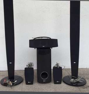 LG 5.1 home theatre system