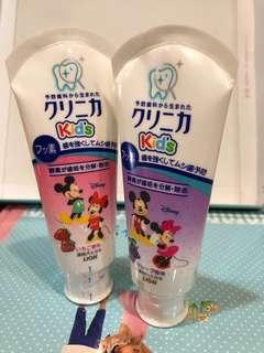 🚚 買2送1 日本製 新鮮貨 Lion 獅王兒童 酵素牙膏 葡萄 草莓