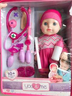 """You & Me 14"""" Medical Baby Doll"""