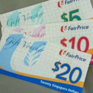 NTUC Vouchers @ 7% Discount ($100 Or Above)