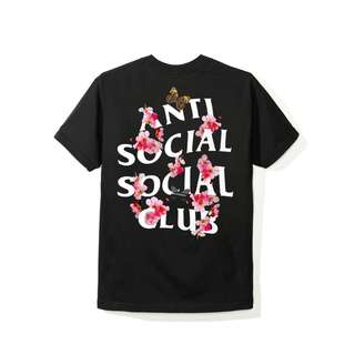 ASSC Anti Social Social Club - Kkoch Black Tee
