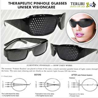 (Premium Quality)Therapeutic Pinhole Glass Unisex Vision Care. Natural Therapy for Improved Eyesight * Myopia+ Hyperopia+Presbyopia Astigmatism Sun glasses sunglass DIY contact lense heal Kid adult