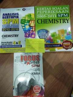 SPM Chemistry books past year