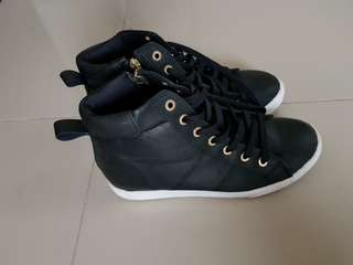 Ankle boots genuine leather from korea