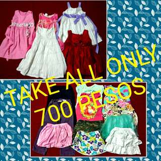 TAKE ALL CLOTHES FOR 3-4 YEAR OLD GIRLS