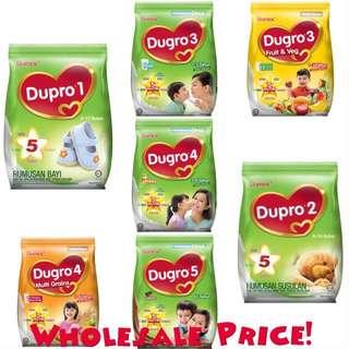 Dupro 1 & 2 // Dugro 3 & 4 & 5