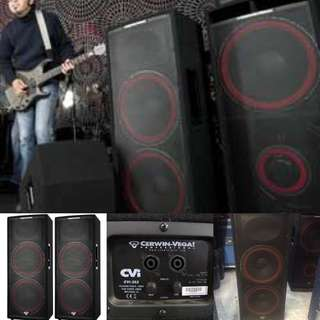 Cerwin-Vega Professional 2,000 Watts Dual 15-inch Quasi 3-Way Passive PA Speaker (UP $2,450) WAREHOUSE PRICE $1,250  (2 UNITS)
