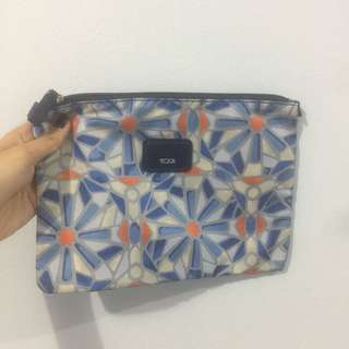 Tumi Floral pouch