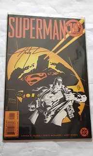 SUPERMAN 10C TEN CENT ADVENTURE SIGNED DF