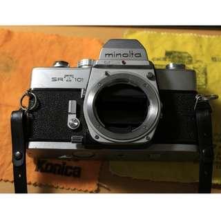 Minolta SRT 101 + 多顆鏡頭