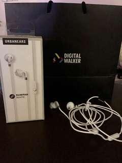 UrbanEars earphones white