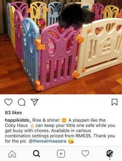 Playpen / gate for kids