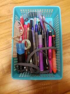 a box of pens
