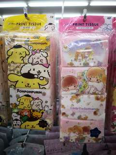 🚚 BN Sanrio Character Tissue