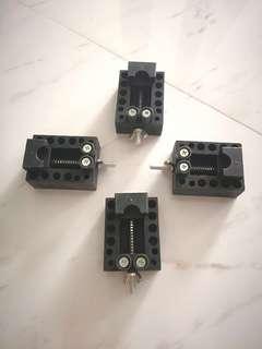 Mini portable drill clamp