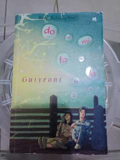 (ORIGINAL) Novel do re mi fa so la ti do 2 by Guiyeoni + Pembatas buku (KOREAN BESTSELLING NOVEL)