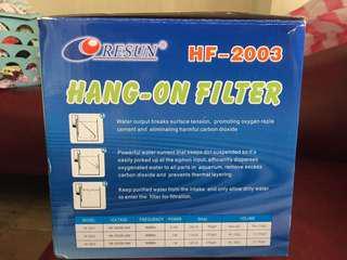 Resun hang on filter