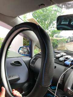 汽車方向盤透氣保護套