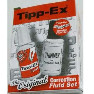 Tipp-Ex塗改液套裝 (未用過)