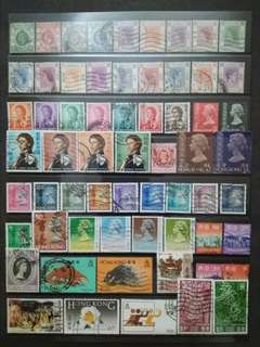 Mix Collection & Best Selection Of 1912-1997 Hong Kong Up To $10 - 60v Used Stamps