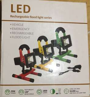 戶外 LED 射燈 防水 spotlight flood light 地盤可用