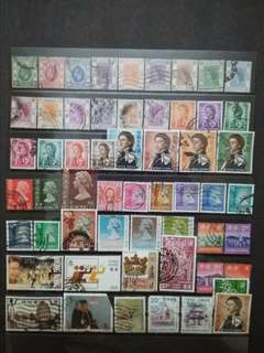 Mix Collection & Best Selection Of 1912-1997 Hong Kong Up To $10 - 50v Used Stamps