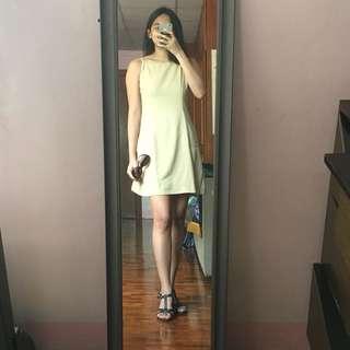XS Beige Dress