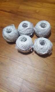 Cotton Twines ( 5 rolls )