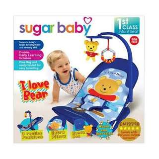 Sugar baby bouncer-bear