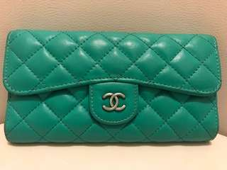 Used wallet leather