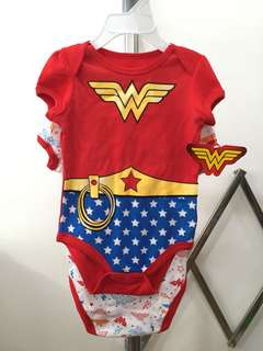 Wonder Woman Onesie for Baby Girl