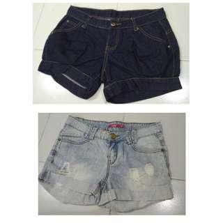 maong shorts bundle