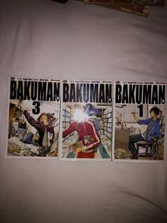 Bakuman 1 - 3 by Tsugumi Ohba (Indonesian Version)