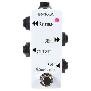 One Control 1LoopBox A/B switching box pedal