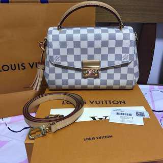Louis Vuitton Croisette Damier Azur Bag