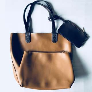 Bag with purse