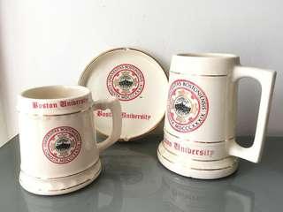Boston University Mug Set