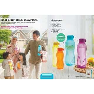 Eco bottle family tupperware original saleee