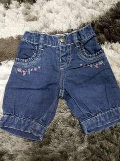Pre wash Short Jeans